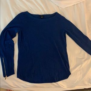 Royal blue Ann Taylor sweater